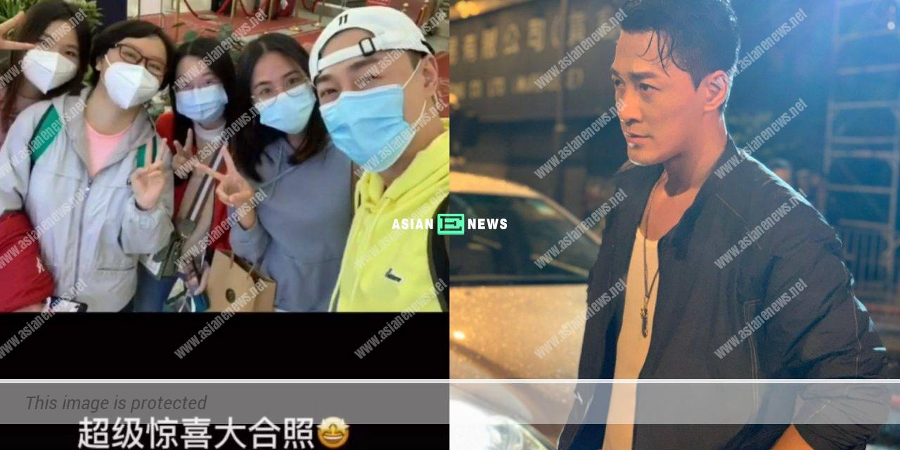 Caring Raymond Lam reminds his fans to wear additional clothes
