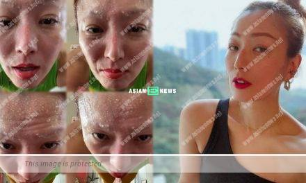 Sammi Cheng continues her training at home