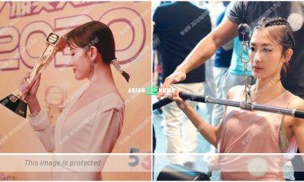 Angel Chiang restricts her diet in order to maintain a tiny waist