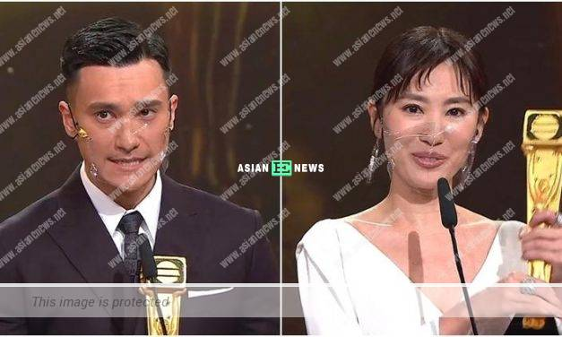 2020 TVB Anniversary Awards: Angel Chiang and Brian Chu won Most Improved Female and Male Artiste Awards