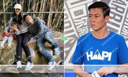 Edison Chen's father receives compliments for his young looks