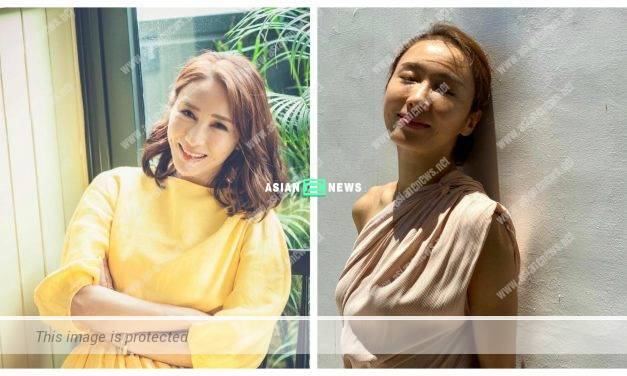 Gigi Lai appears on a magazine cover and resembles Tavia Yeung?