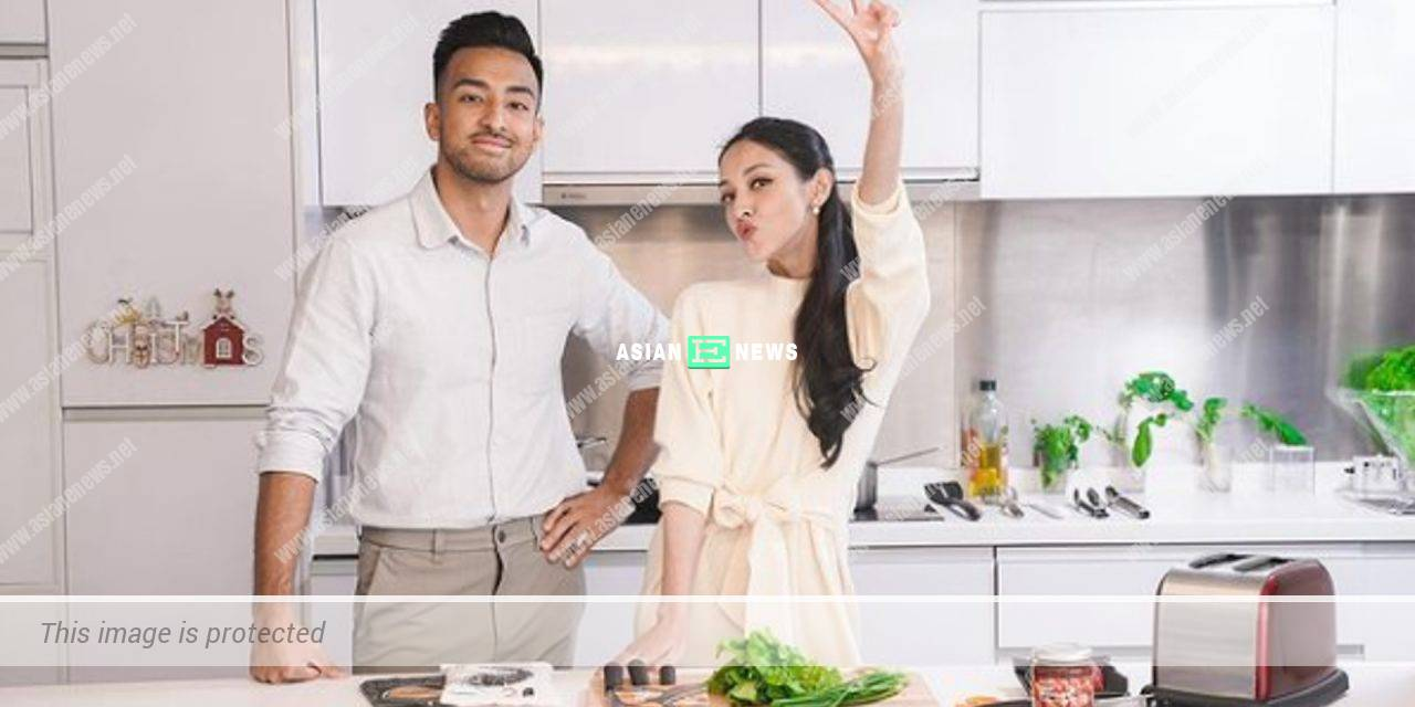 Grace Chan approaches her younger brother Derek to teach her cooking