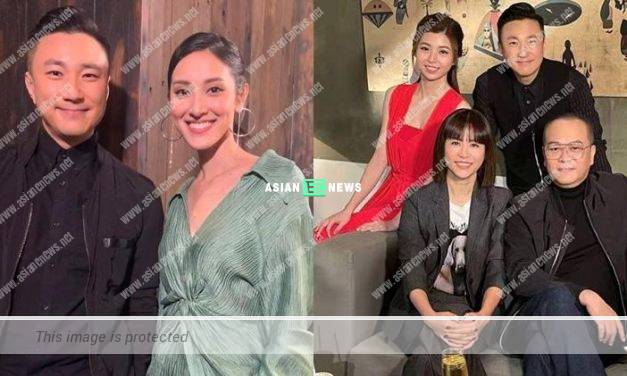"Grace Chan makes a ""comeback"" and hosts a show with Amigo Choi"