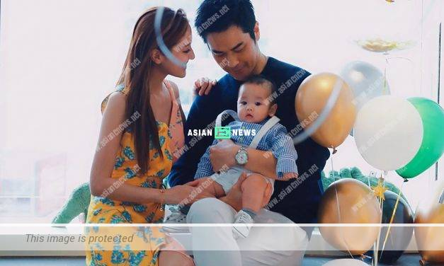 Grace Chan is expecting again? Katy Kung gives a soft toy to her daughter