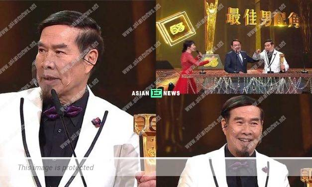 2020 TVB Anniversary Awards: Jason Pai won Best Actor in a Supporting Role Award