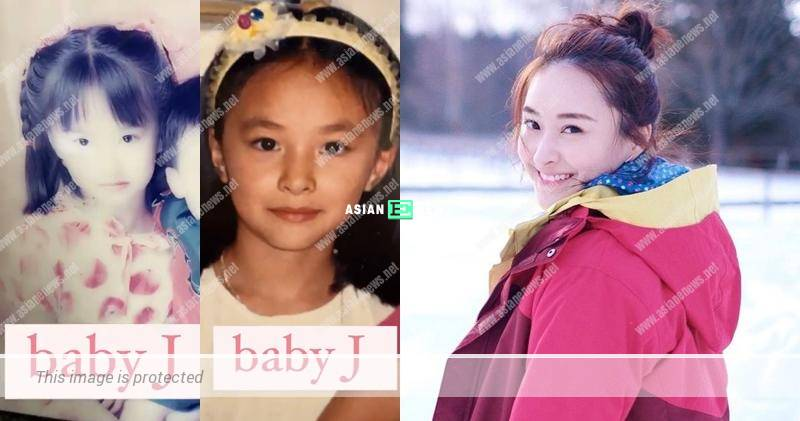Jeannie Chan shows her childhood photo; She is a beauty since young