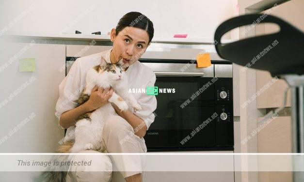 Jessica Hsuan has special affinity with the cats?