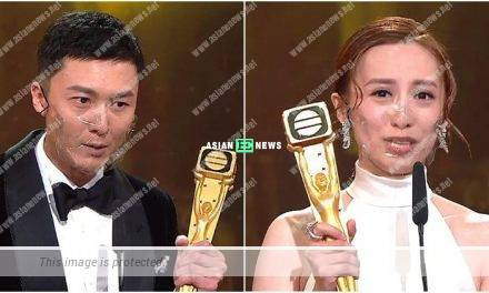 Vincent Wong and Katy Kung bagged Favourite Leading Actor and Actress Awards based in Malaysia