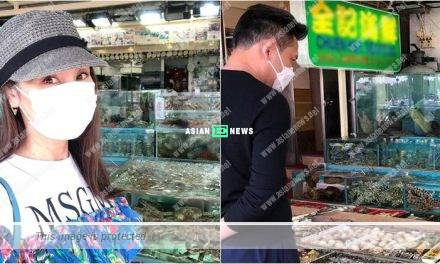 Kenix Kwok prepares a seafood meal for her husband Frankie Lam