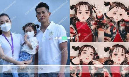 """Moka Fang shows a video revealing her younger daughter's """"appearance"""""""