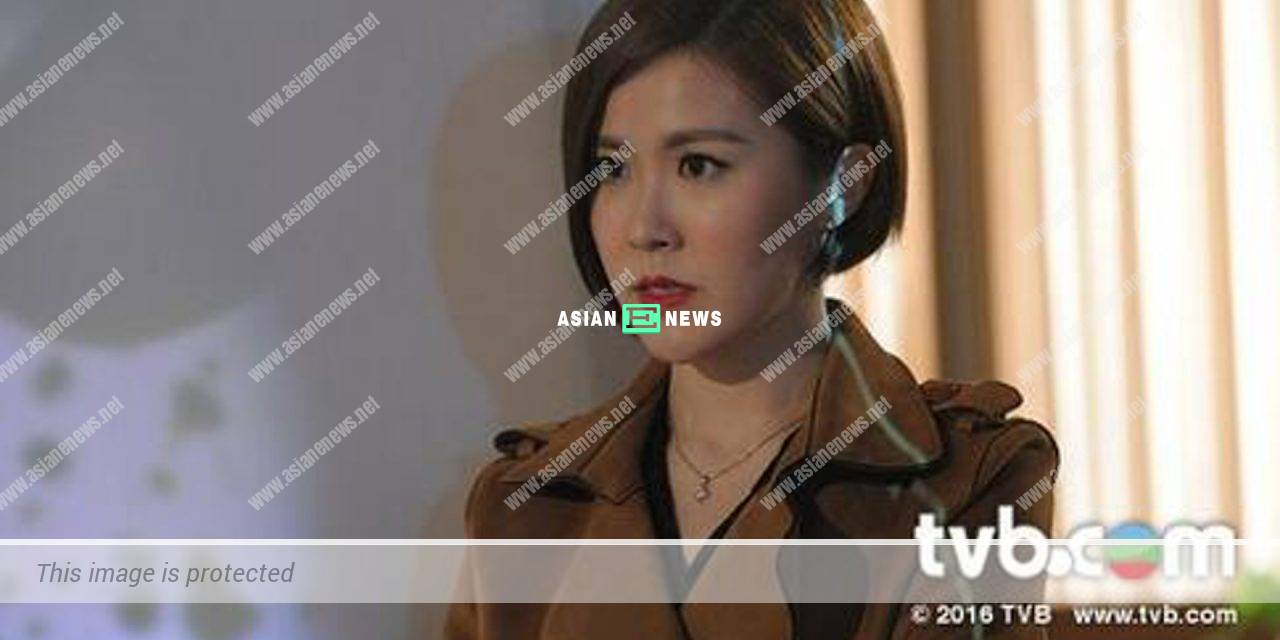 Moon Lau cuts her hair short and changes her fashion style