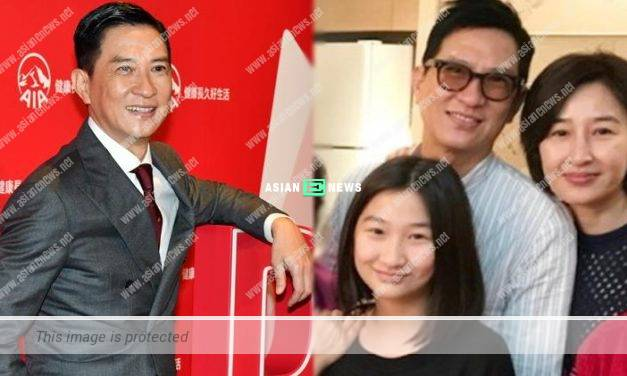 Nick Cheung has close bonding with his daughter