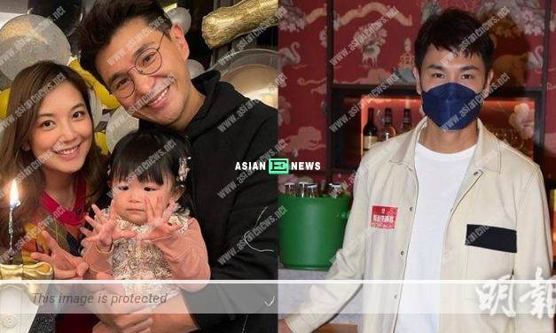 Ruco Chan feels happy that his daughter feeds him