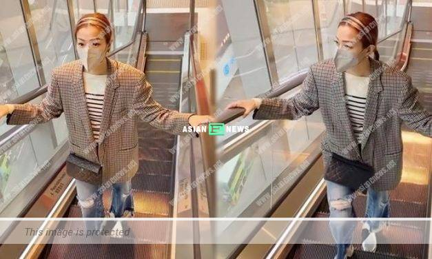 Sammi Cheng feels warm when wearing her deceased father's jacket