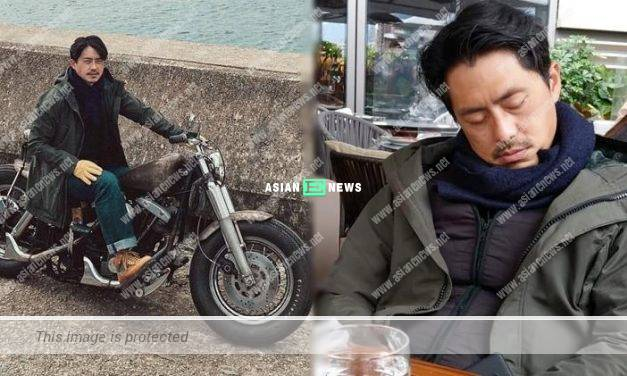Exhausted? Sammy Leung falls asleep when eating