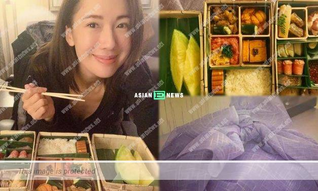 Shooting is delayed again! Selena Lee enjoys a good meal to console herself