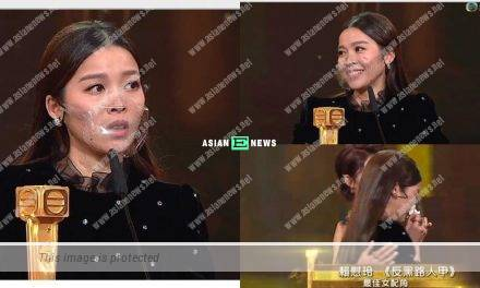 2020 TVB Anniversary Awards: Winki Lai won Best Actress in a Supporting Role Award