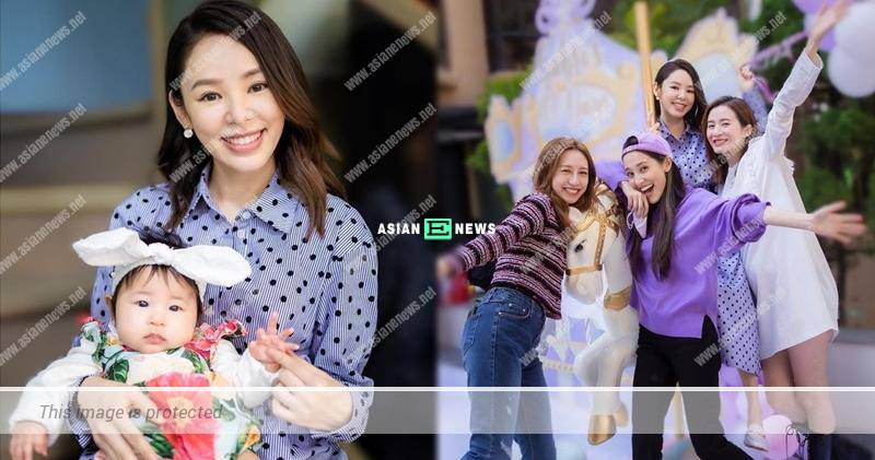 Zoie Tam shows her daughter Gabri's appearance