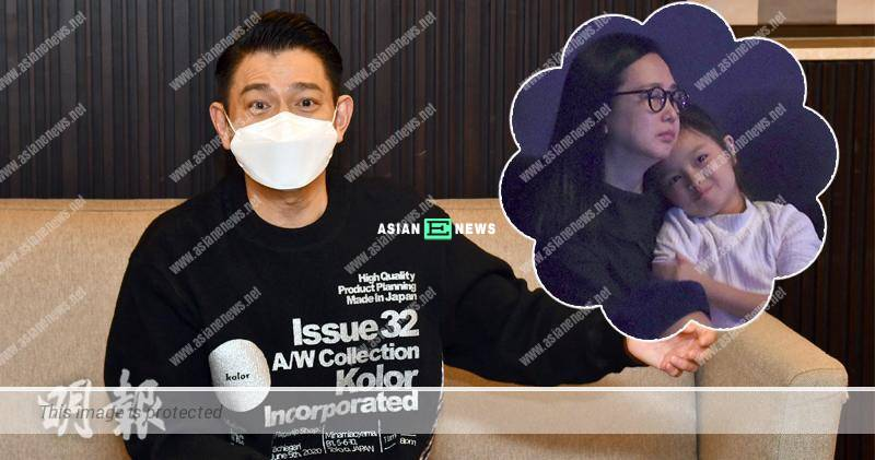 Andy Lau accompanies his daughter to do homework but it increases their conflicts?