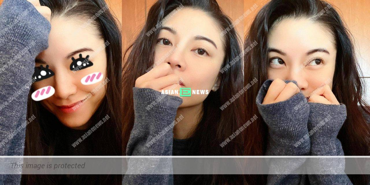 Bernice Liu shows 3 different selfies revealing her young looks