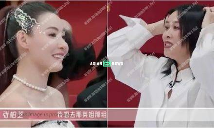 Sister Who Makes Waves 2 show: Na Ying rejected Cecilia Cheung's request to join her group