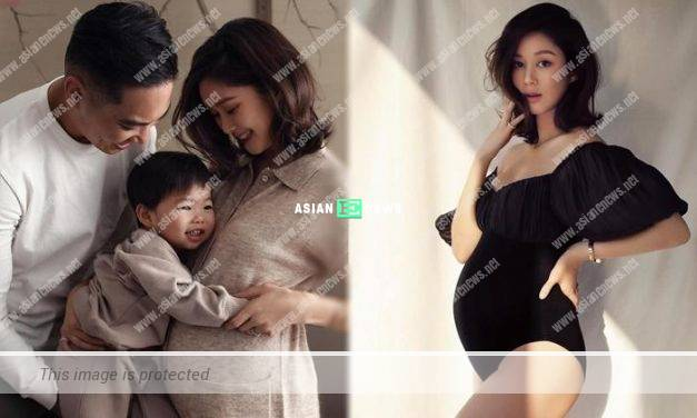 36-year-old Eliza Sam announced her second pregnancy
