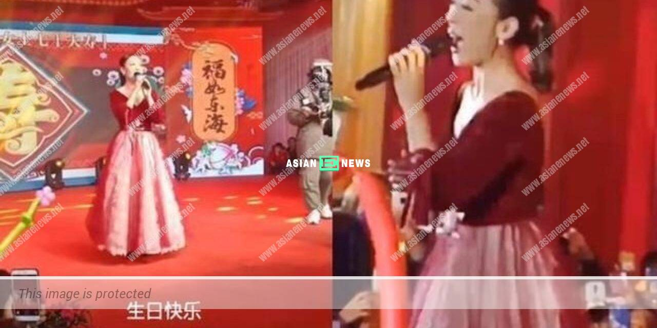 Florence Kwok relocates to Shunde District; She relies on stage performances for a living