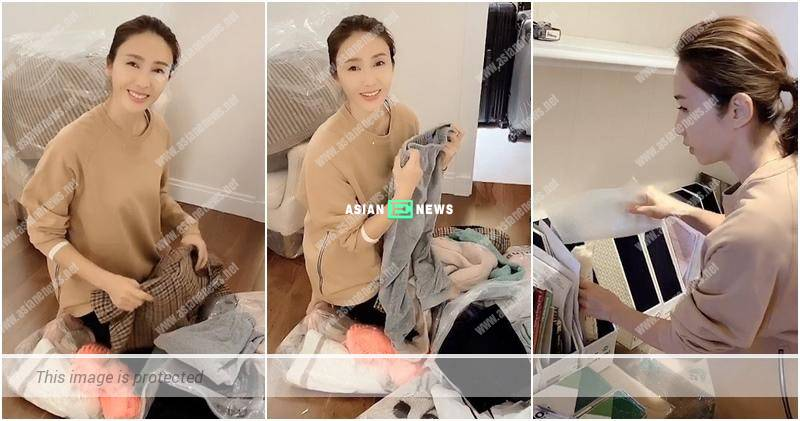 Gigi Lai conducts spring cleaning at home: Let's give a fresh feeling to our families