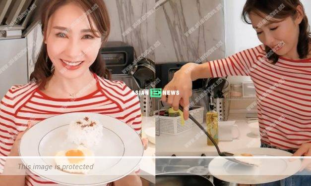 Gigi Lai cooks an ordinary meal at home