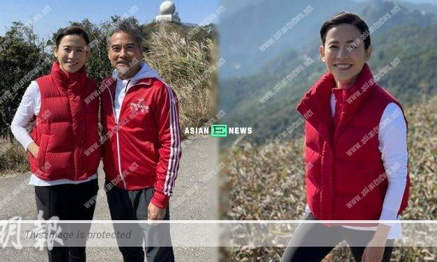 Jessica Hsuan goes for hiking when shooting an advertisement