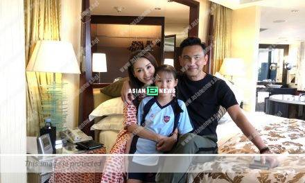 Kenix Kwok is getting old? She shows her family photo