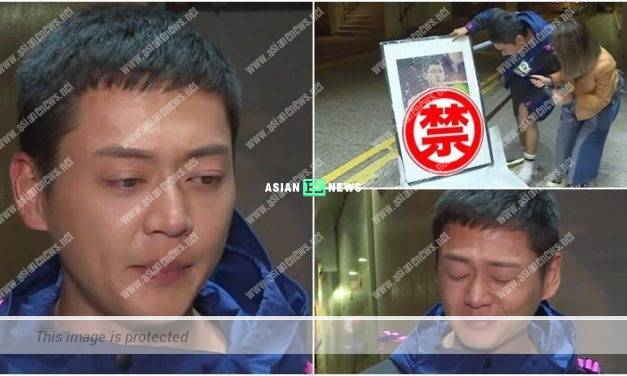 The Fighting drama: Owen Cheung has tears because of his role