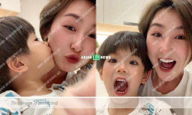 "Samantha Ko treats Chris Lai's son as her ""little lover"""
