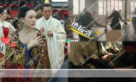 Zhang Ziyi fell down and continued the shooting after resting for several days