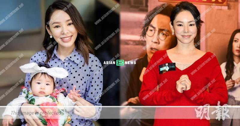 Zoie Tam has a busy life after becoming a mother