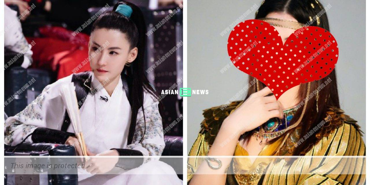 Cecilia Cheung is dressed up as Egypt Queen in an advertisement shoot