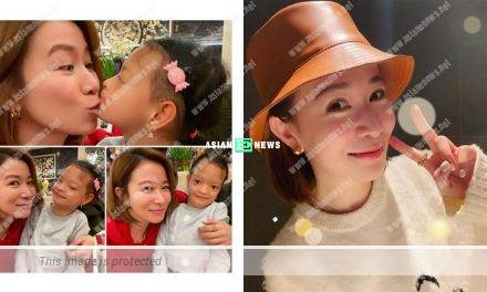 Charmaine Sheh feels lucky that Margaret Chung's daughter kisses her