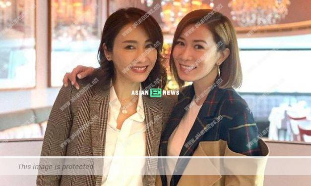 Gigi Lai and Charmaine Sheh have a gathering; She praises Gigi looks beautiful