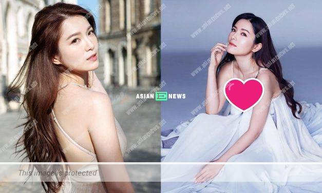 Christine Kuo shows her good body figure; Grace Wong told her to dance with her
