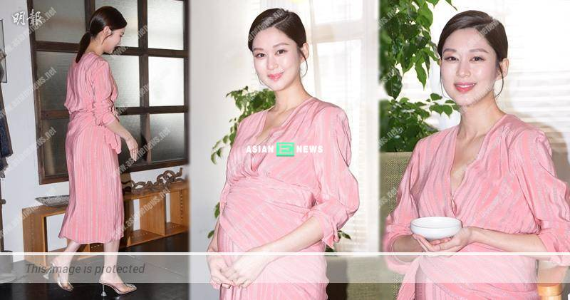 Eliza Sam is afraid of caesarian; She prays for smooth delivery