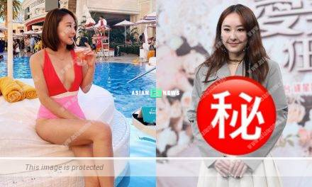 Jeannie Chan gains weight and has a round face