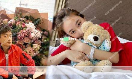 Netizens suspect Alex Fong gives flowers to Jeannie Chan