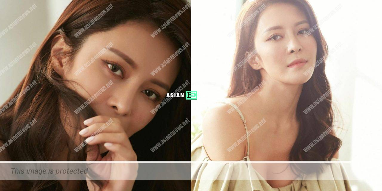 Kelly Cheung shows her natural beauty during the quarantine period in Shenzhen