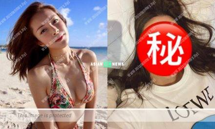 """Kelly Cheung shows a """"pitiful"""" expression; Netizens wish her good luck"""