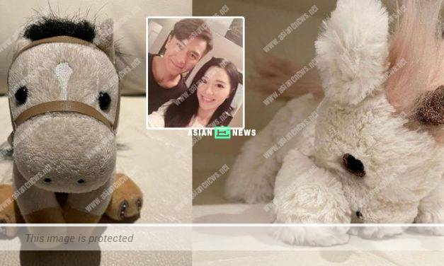 Roxanne Tong shows her love sickness for Kenneth Ma in the air