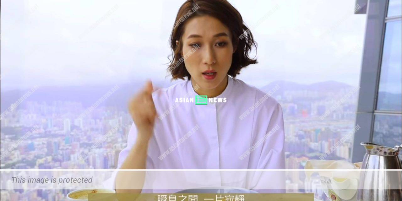 No changes? Linda Chung shows an old photo taken during beauty pageant