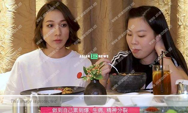 Linda Chung confesses she is an obedient artiste in show business