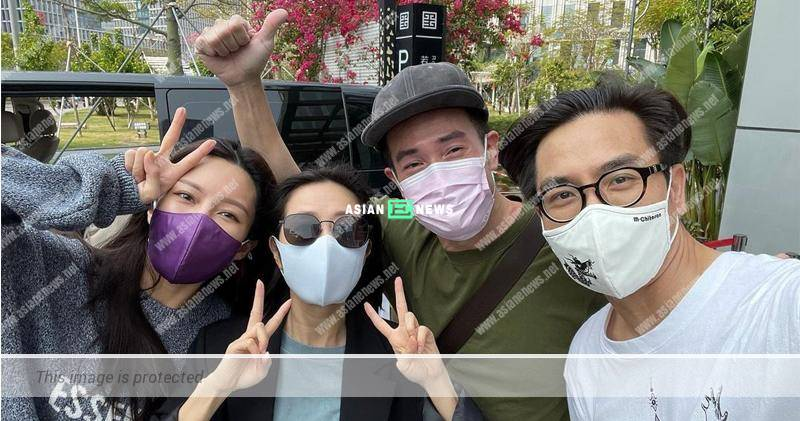 Kenneth Ma looks tired after completing the quarantine period?
