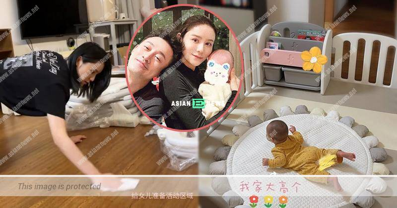 """Carina Zhang wishes her daughter will grow up quickly and """"bully"""" Raymond Lam together"""